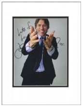 John Bishop Autograph Signed Photo